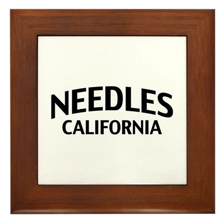 Needles California Framed Tile
