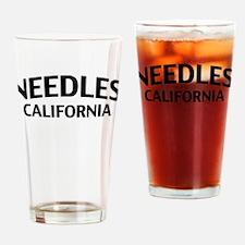 Needles California Drinking Glass