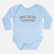 Nebo Center California Long Sleeve Infant Bodysuit