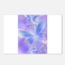 Funny Butterfly blue Postcards (Package of 8)