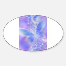 Cool Fractals Sticker (Oval)