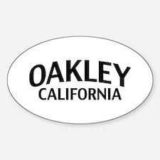 Oakley California Sticker (Oval)