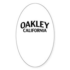 Oakley California Stickers