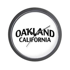 Oakland California Wall Clock