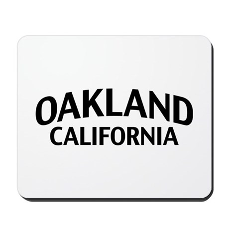 Oakland California Mousepad