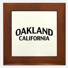 Oakland California Framed Tile