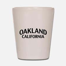 Oakland California Shot Glass