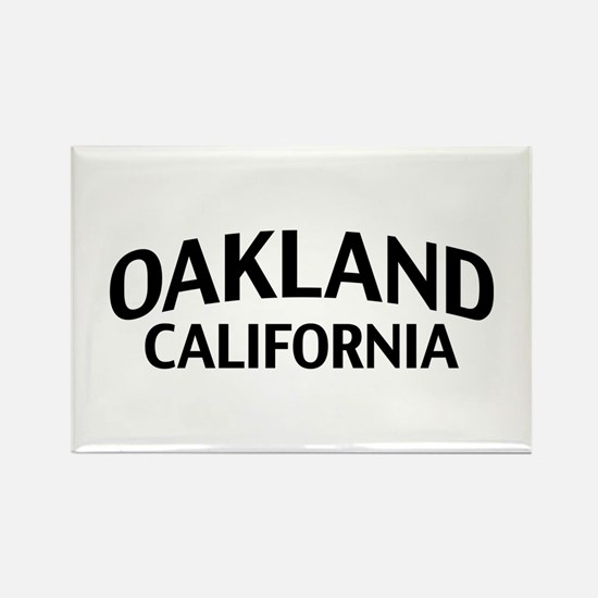 Oakland California Rectangle Magnet