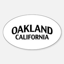 Oakland California Decal