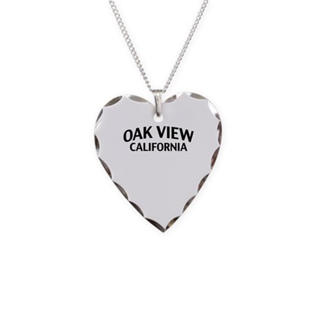 Oak View California Necklace Heart Charm