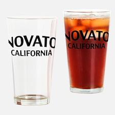 Novato California Drinking Glass