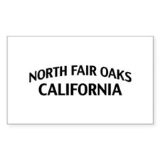North Fair Oaks California Decal