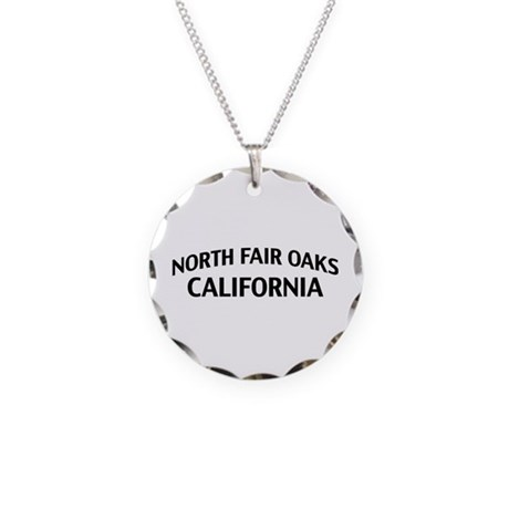 North Fair Oaks California Necklace Circle Charm