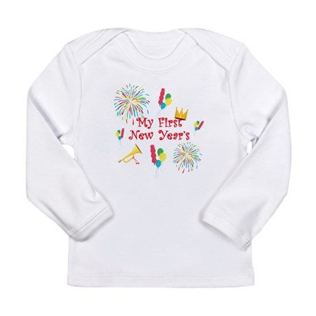 first new years copy Long Sleeve T-Shirt
