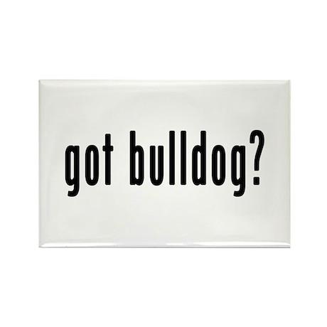 GOT BULLDOG Rectangle Magnet (10 pack)