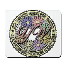 LDS YW Values - Color Seal - Mousepad
