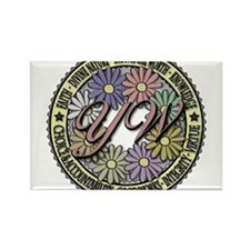 LDS YW Values - Color Seal - Rectangle Magnet (10