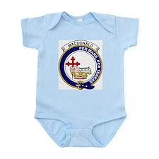 Cute Clan macdonald badge Infant Bodysuit