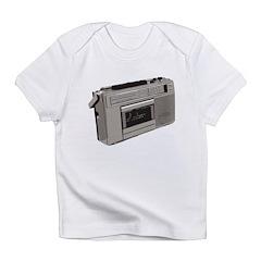 Radio Cassette Tape Player Infant T-Shirt
