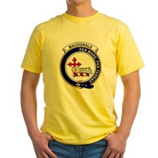 Funny Clan macdonald badge T