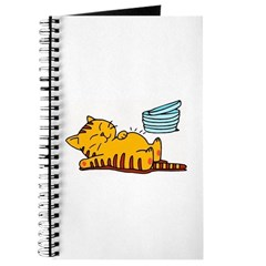 Funny Fat Cat Journal