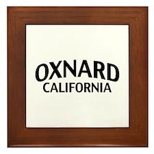 Oxnard California Framed Tile
