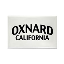 Oxnard California Rectangle Magnet