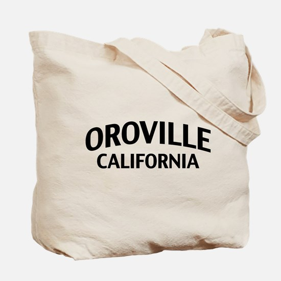 Oroville California Tote Bag