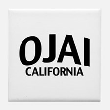 Ojai California Tile Coaster