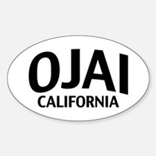 Ojai California Decal