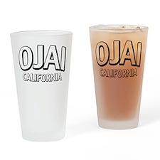 Ojai California Drinking Glass