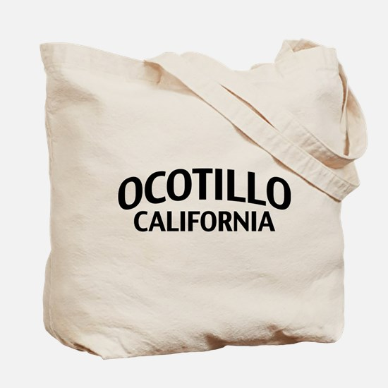 Ocotillo California Tote Bag