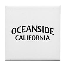 Oceanside California Tile Coaster