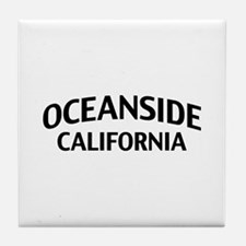 Oceanside California Tile Coaster