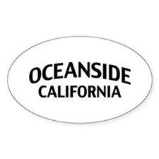 Oceanside California Decal
