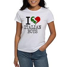 I Love Italian Boys Tee