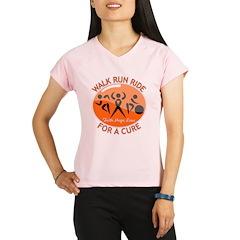 Leukemia Walk Run Ride Performance Dry T-Shirt