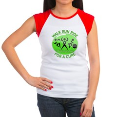 Lymphoma Walk Run Ride Women's Cap Sleeve T-Shirt