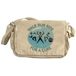 Prostate Cancer Walk Run Ride Messenger Bag