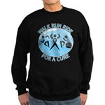 Prostate Cancer Walk Run Ride Sweatshirt (dark)