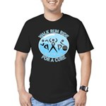 Prostate Cancer Walk Run Ride Men's Fitted T-Shirt