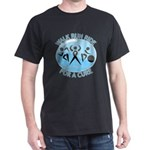 Prostate Cancer Walk Run Ride Dark T-Shirt