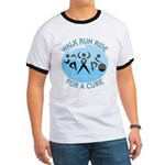 Prostate Cancer Walk Run Ride Ringer T
