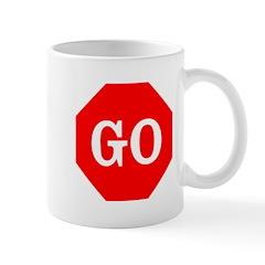 Go Stop Sign Mug