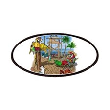 Parrot Beach Shack Patch