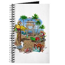 Parrot Beach Party Journal