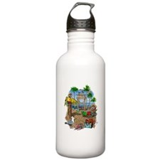 Parrot Beach Party Water Bottle