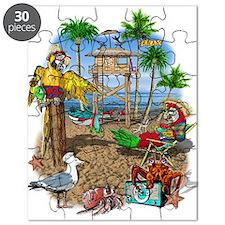 Parrot Beach Party Puzzle