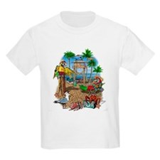 Parrot Beach Shack T-Shirt