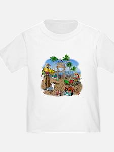 Parrot Beach Shack T